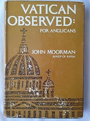 Vatican Observed: An Anglican Impression of Vatican: Moorman, John