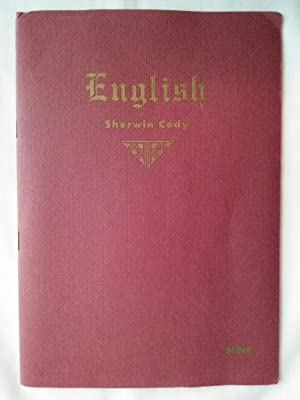 The Sherwin Cody 100% Self-Correcting Course in English Language Lesson Nine