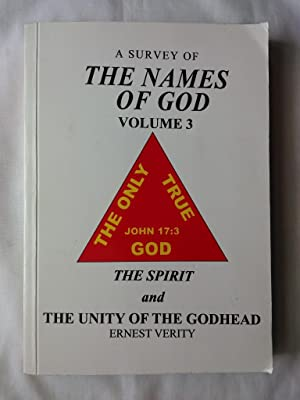 A Survey of the Names of God: Volume 3