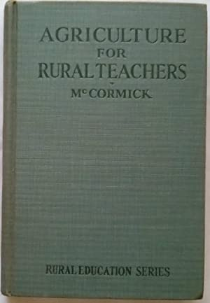 Agriculture for Rural Teachers