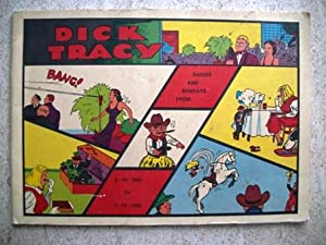 Dick Tracy Dailies and Sundays from 3-12-1940 to 7-13-1940