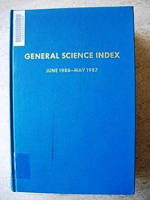 General Science Index June 1986 - May: Kochones, James