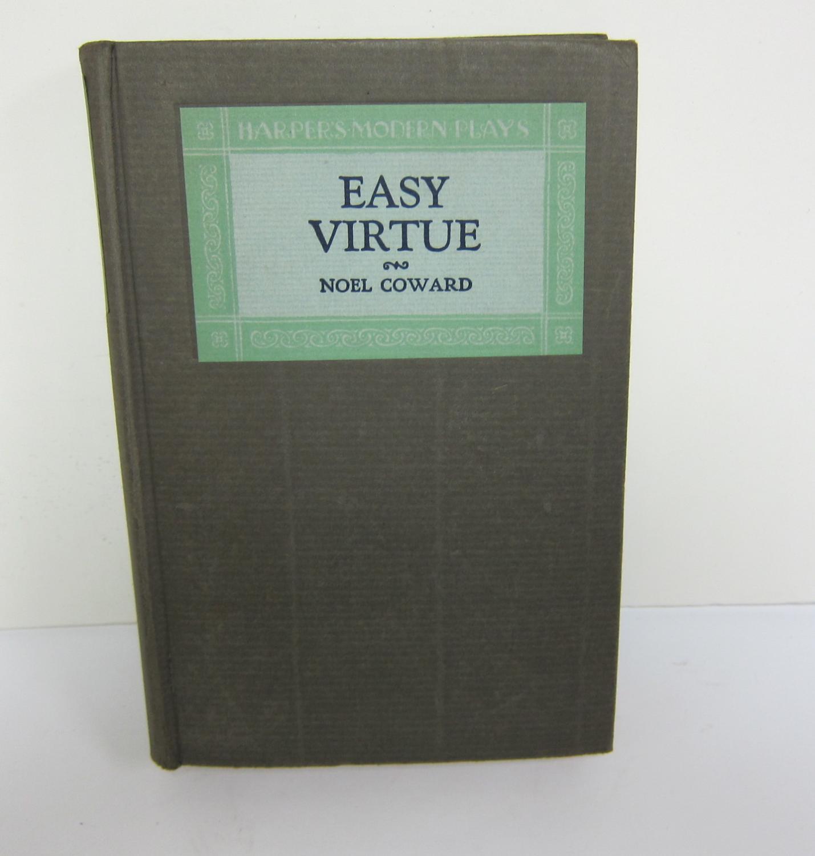 Easy Virtue COWARD, NOEL. Hardcover