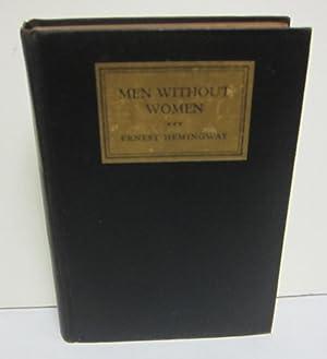 Men Without Women: HEMINGWAY, ERNEST.
