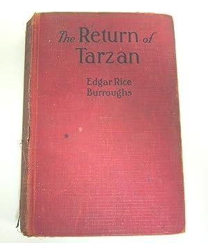 The Return of Tarzan: BURROUGHS, EDGAR RICE.