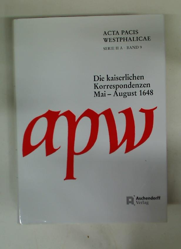 Acta Pacis Westphalicae.: Fraedrich Nowag, Stefanie