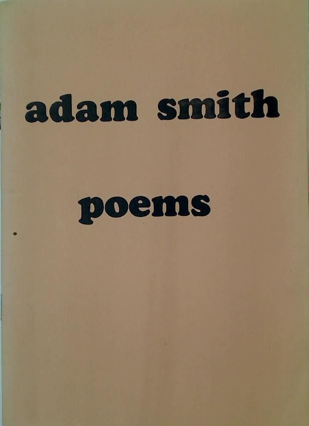 Adam Smith Poems.: Smith, Adam