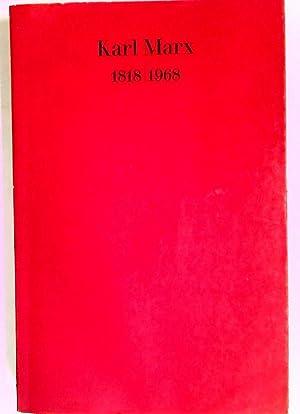 Karl Marx 1818 / 1968.: Marx, Karl]; Mann,