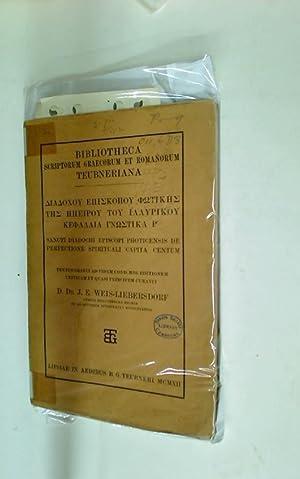 Sancti Diadochi Episcopi Photicensis de Perfectione Spirituali Capita Centum.: Diadochus ; ...