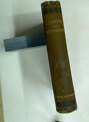 The History of Henry Esmond, Esq.: Thackeray, William Makepeace