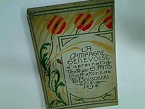 La Campagne Genevoise d'après nature.: Fatio, G ;