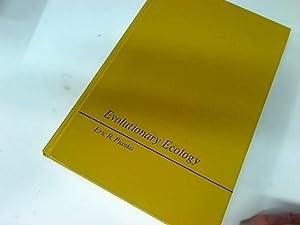 Evolutionary Ecology.: Pianka, Eric