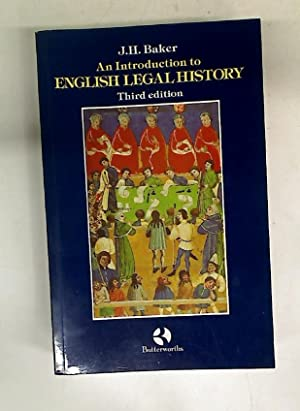 An Introduction to English Legal History. Third: Baker, J H