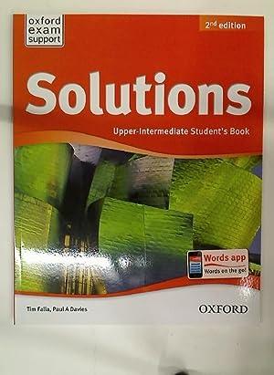 SOLUTIONS UPPER INTERMEDIATE SB