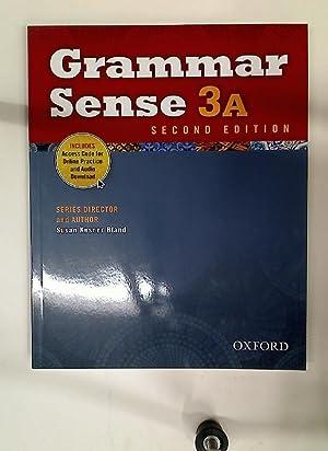 Grammar Sense 3a. Second Edition.: Bland, Susan Kesner