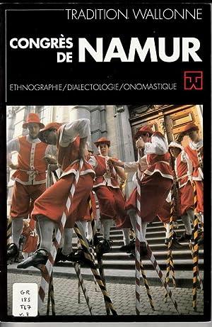Tradition Wallonne: Congrès de Namur. Ethnographie, Dialectologie,: Ducastelle, Jean-Pierre