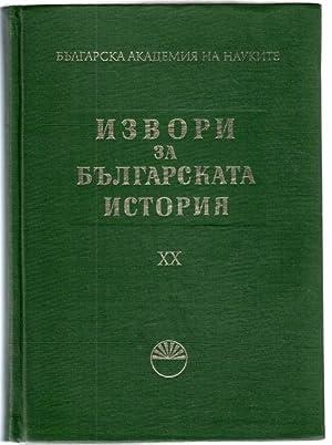 Turski izvori za bulgarskata istorija V =: Cvetkova, Bistra