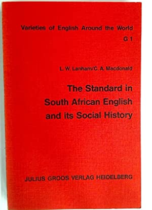 The Standard in South African English and: Lanham, L W