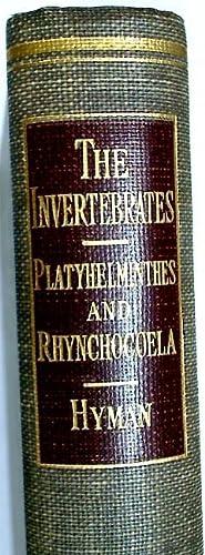 The Invertebrates. Volume 2: Platyhelminthes and Rhynchocoela.: Hyman, Libbie Henrietta