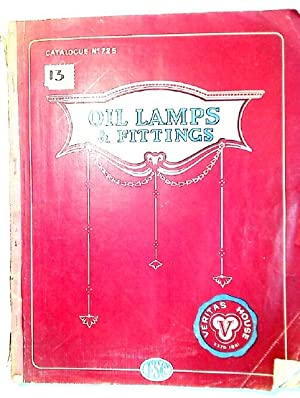 Oil Lamps and Fittings. Catalogue No 725.: Falk, Stadelmann &
