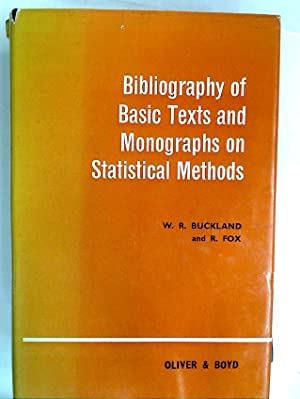 Bibliography of Basic Texts and Monographs on: Buckland, W R