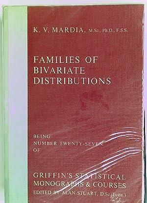 Families of Bivariate Distributions.: Mardia, K V
