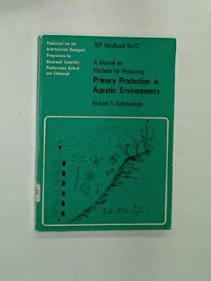 A Manual on Methods for Measuring Primary: Vollenweider, Richard