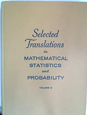dobrusin s m - selected translations in mathematical statistics and