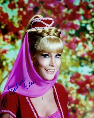 Barbara Eden Autograph. I Dream of Jeannie. Eden, Barbara.