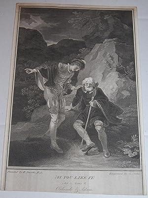 Orlando & Adam. [As You Like It.: Shakespeare, William. George