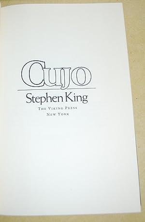Cujo.: King, Stephen.