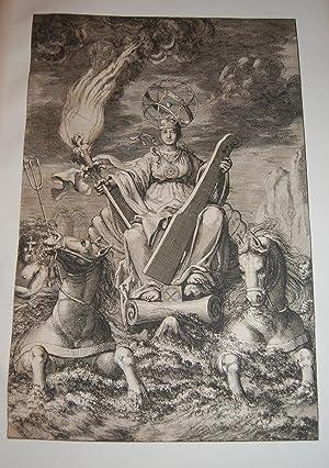 De Nieuwe Groote Lichtende Zee-Fakkel.FRONTISPIECE. Sea Goddess: Keulen, Johannes van.