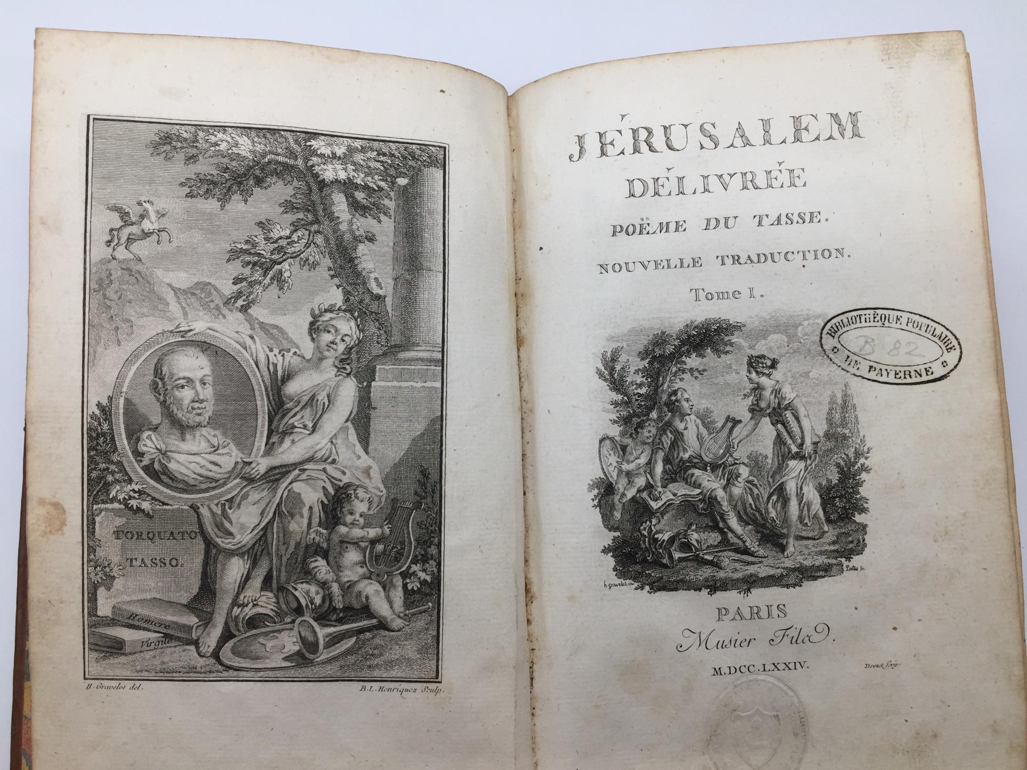 Jérusalem Délivrée Poème Du Tasse Nouvelle
