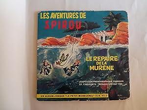 Livre-disque: Les aventures de SPIROU, Le repaire: Franquin