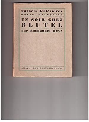 Un soir chez BLUTEL: Emmanuel BOVE