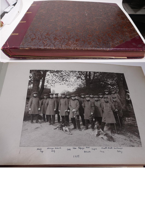 Schönes Fotoalbum eines Angehörigen vom Württembergischen Pionier-Bataillon: Fotoalbum Württemberg 1899-1911,