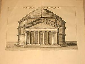 Pantheon nunc vulgo la Rotonda Facies Panthei Interna: Ioannes Blaeu