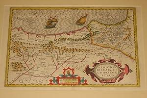 Legionis Biscaia et Guipiscoae Typus: Mercator/ Hondius