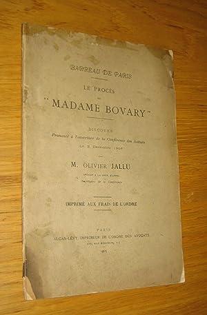 "Le procès de ""Madame Bovary"": Jallu (Olivier)"