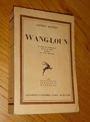 Wang-Loun: Döblin (Alfred)
