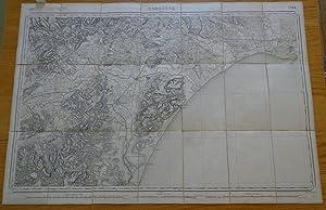 Carte géographique de Narbonne et sa région, 1860: Collectif