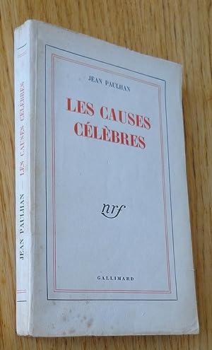 Les causes célèbres: Paulhan (Jean)