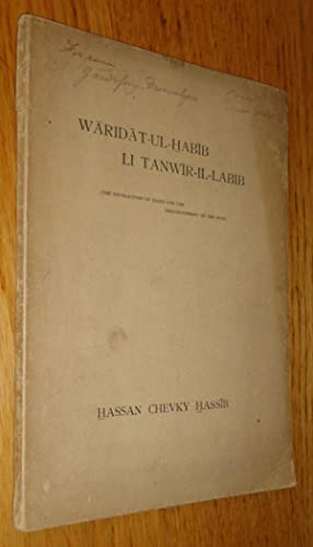 Waridat-ul-Habib li Tanwir-Il-Labib (The revelations of Habib for the enlightenment of the wise).