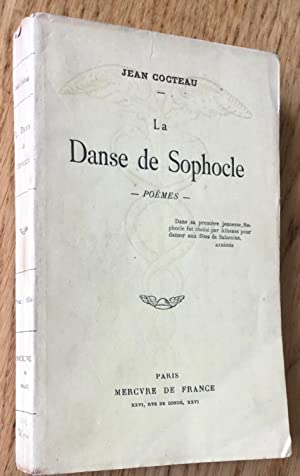 La Danse de Sophocle. Poèmes.: Cocteau (Jean)