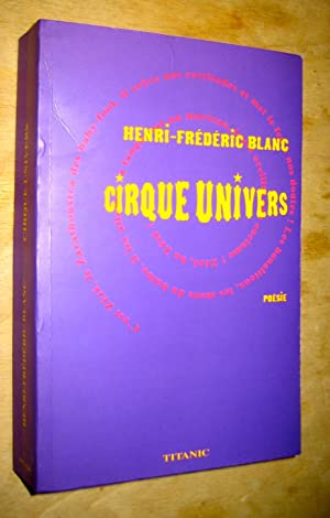 Cirque univers: Blanc (Henri-Frédéric)