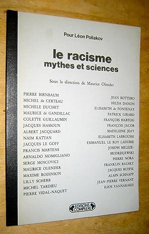 Pour Léon Poliakov. Le racisme, mythes et: Olender (Maurice)