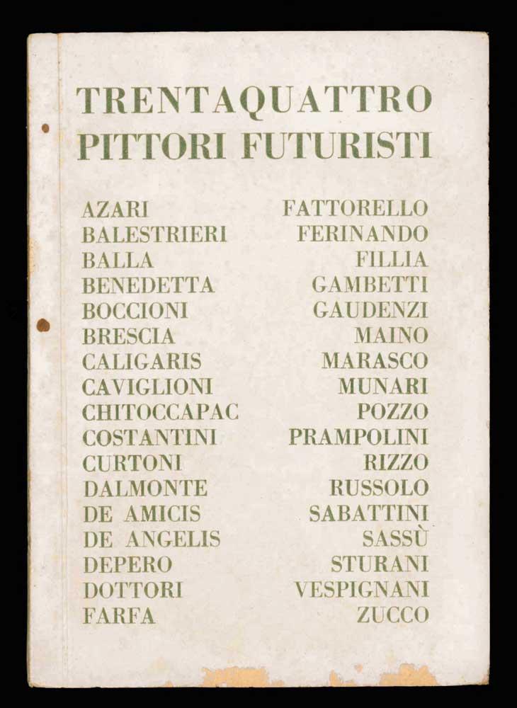 Mostra di trentaquattro pittori futuristi da Aa. Vv.: (1927 ...