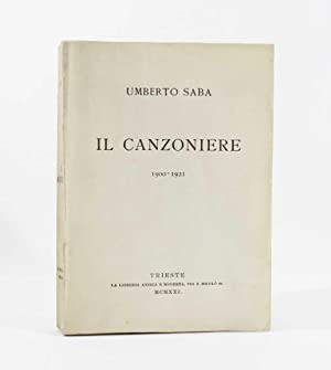 Il Canzoniere 1900-1921: Saba, Umberto [U. Poli]