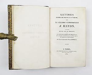 Lettres écrites de Vienne en Autriche, sur: Stendhal (Henri Beyle)]