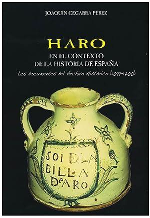 HARO EN EL CONTEXTO DE LA HISTORIA: CEGARRA PEREZ, J.